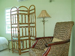 Vieques PR villa rental: Hilltop Hacienda indoor living area