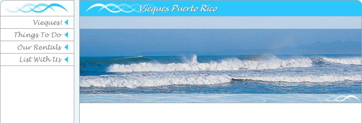 Villa and vacation rentals on the island of Vieques PR