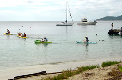 Kayaking on Vieques PR